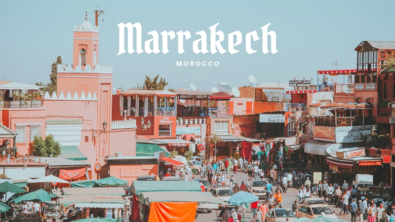 มาราเกช (Marrakech) มนต์สเน่ห์แห่งโมร็อกโก