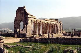 ซากอารยธรรมโรมัน ณ เมืองโวลูบิลิส