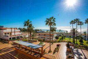 โรงแรม Hotel Club Almoggar Garden Beach